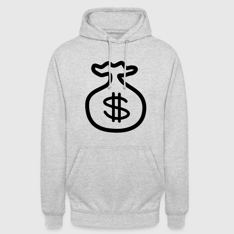 Dollar Argent Banque Sweat-shirts - Sweat-shirt à capuche unisexe