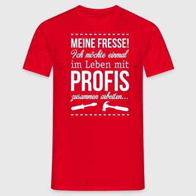 suchbegriff 39 einmal mit profis arbeiten 39 t shirts online. Black Bedroom Furniture Sets. Home Design Ideas