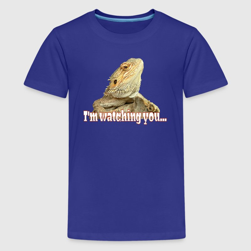 I'm watching you Bartagame T-Shirts - Teenager Premium T-Shirt