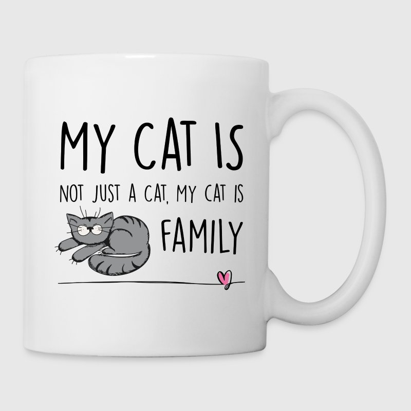 My Cat is Family Mugs & Drinkware - Mug