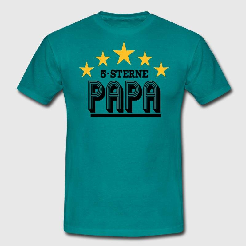 5 sterne papa t shirt spreadshirt. Black Bedroom Furniture Sets. Home Design Ideas