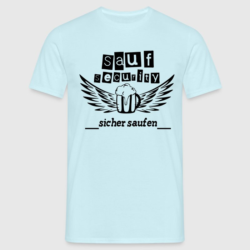 Sauf Security T-Shirts - Männer T-Shirt