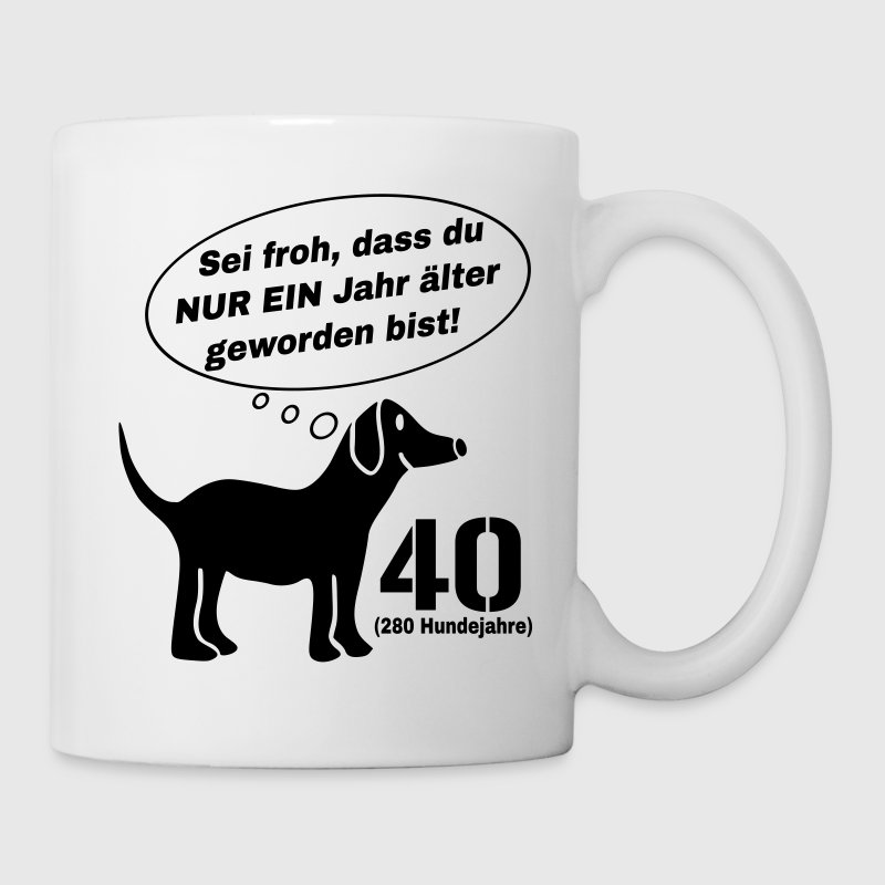 Tassen Hund : Hund jahre tasse spreadshirt