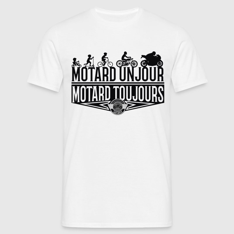 MotardEvolution - T-shirt Homme