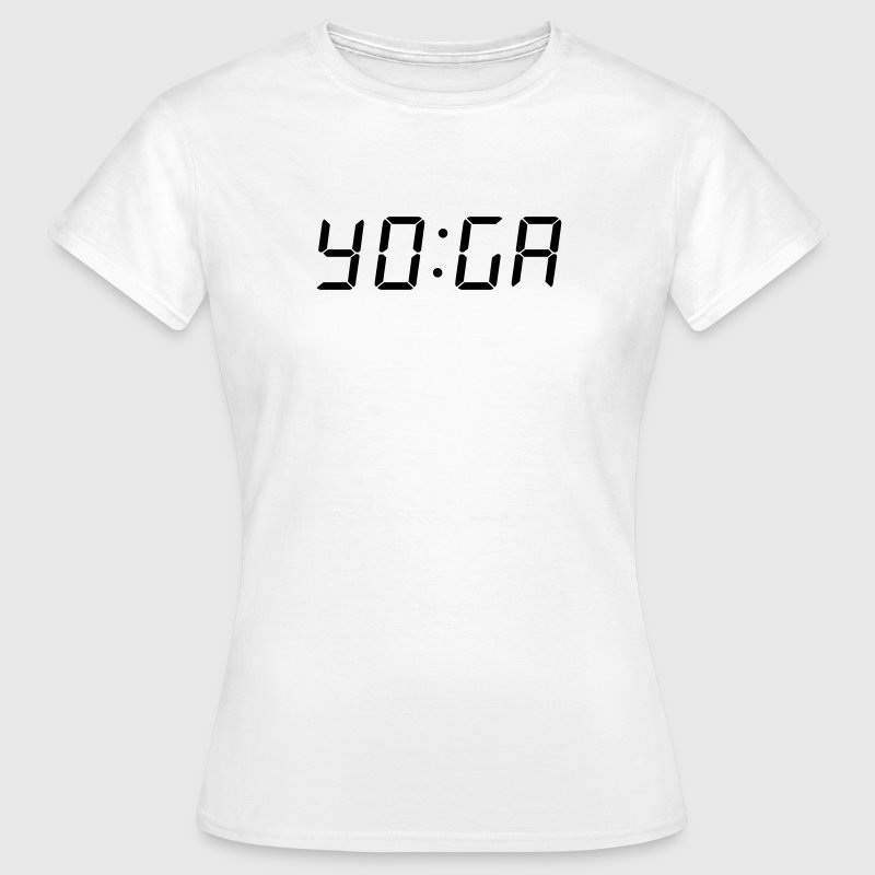It's Yoga Time T-Shirts - Frauen T-Shirt