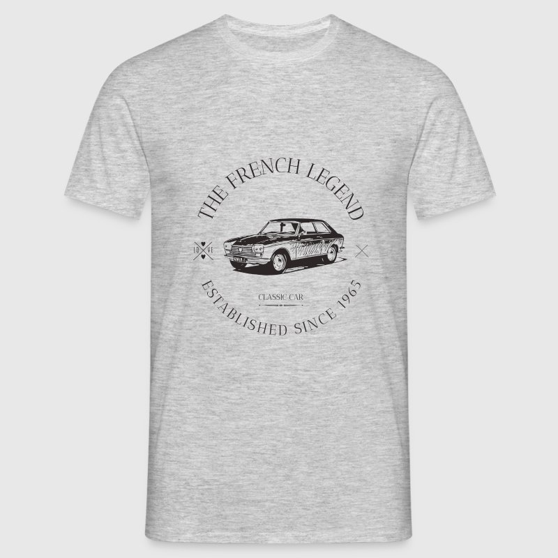 PEUGEOT 204 FRENCH CAR  Tee shirts - T-shirt Homme