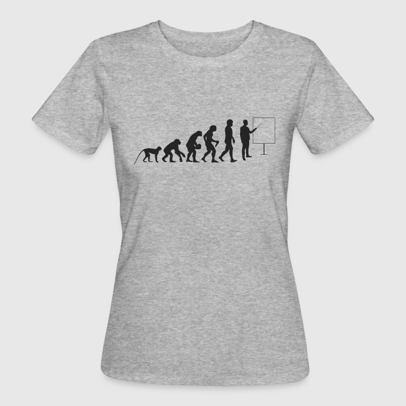 Lehrer Evolution T-Shirts - Frauen Bio-T-Shirt