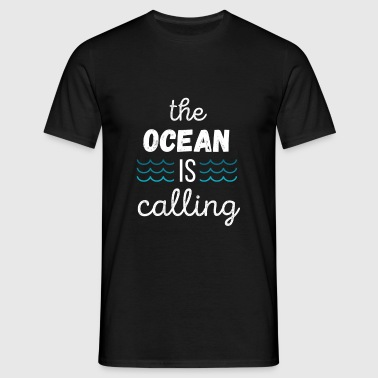 The Ocean is calling Surf T-shirt Baby Bodysuits - Men's T-Shirt