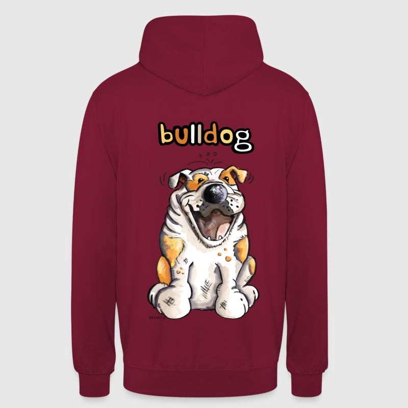 Bulldog anglais Sweat-shirts - Sweat-shirt à capuche unisexe