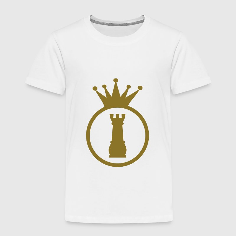 chess / sjakk / spill / geek Skjorter - Premium T-skjorte for barn