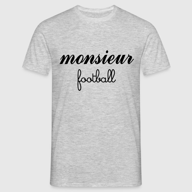 Monsieur Football Tee shirts - T-shirt Homme