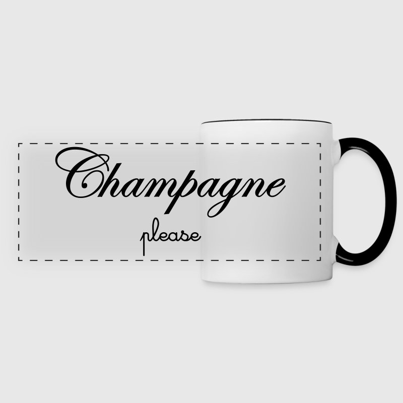 Champagne Please Bouteilles et Tasses - Tasse panorama