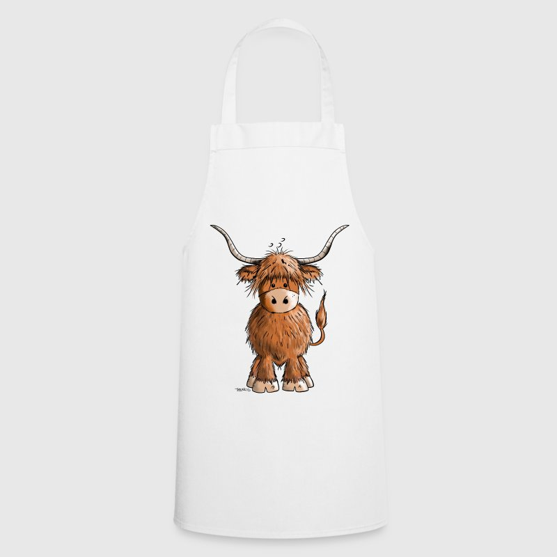 Scottish Highland Cattle Tabliers - Tablier de cuisine