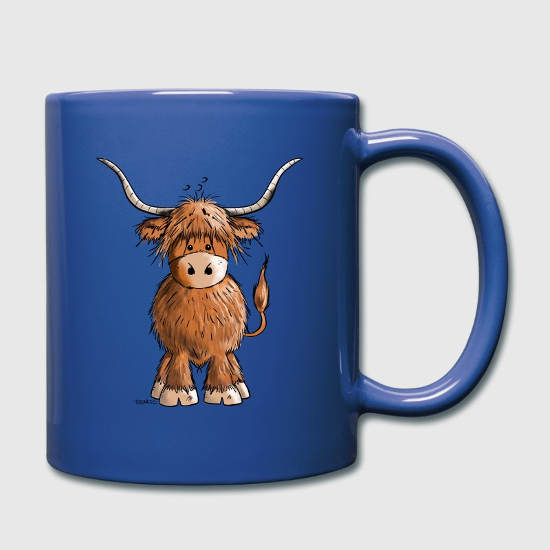 Scottish Highland Cattle Mugs & Drinkware - Full Colour Mug