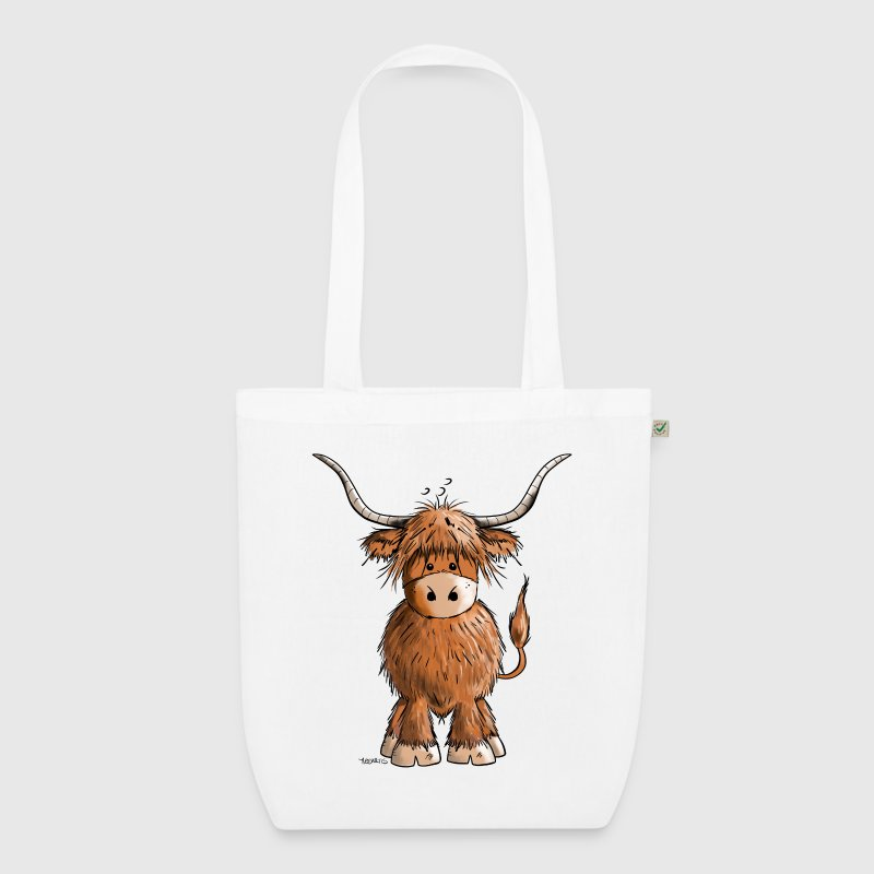 Scottish Highland Cattle Bags & Backpacks - EarthPositive Tote Bag