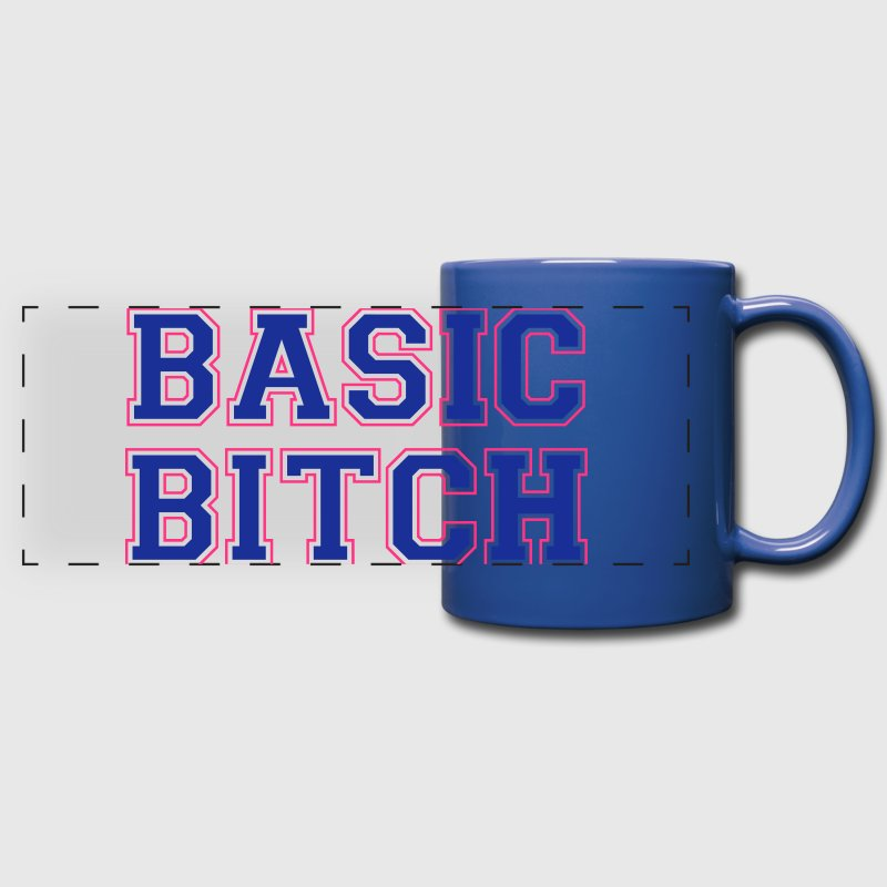 BASIC BITCH Mugs & Drinkware - Full Color Panoramic Mug