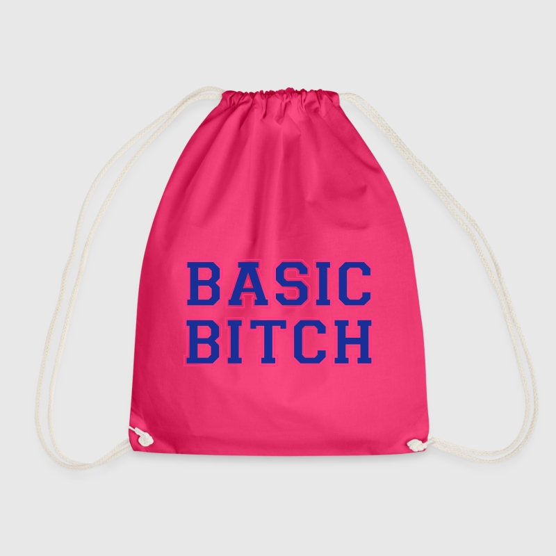 BASIC BITCH Bags & Backpacks - Drawstring Bag