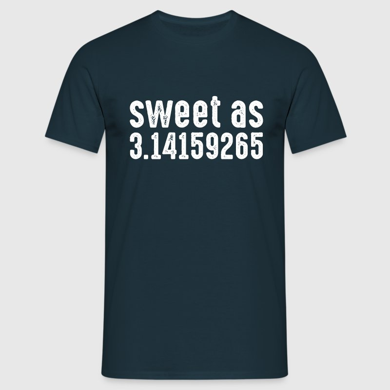 Sweet As 3.14159265 T-Shirts - Men's T-Shirt