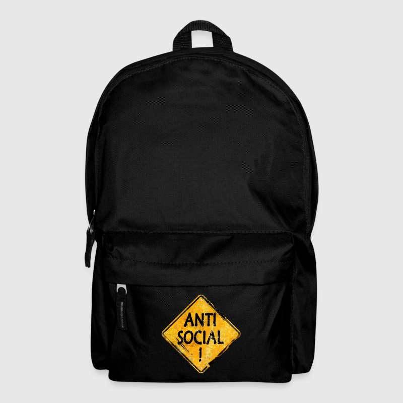 Anti-Social person Bags & Backpacks - Backpack