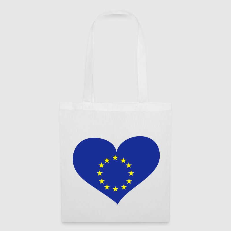 Europa Herz; Heart Europe Bags & Backpacks - Tote Bag