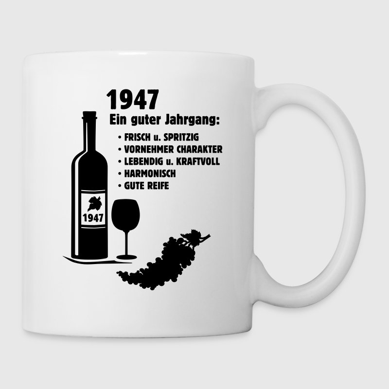 geburtstag jahrgang 1947 shirt selbst gestalten tasse spreadshirt. Black Bedroom Furniture Sets. Home Design Ideas