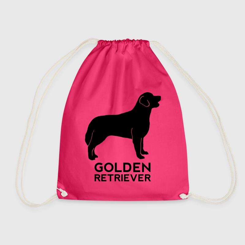 Golden Retriever Silhouette - Turnbeutel