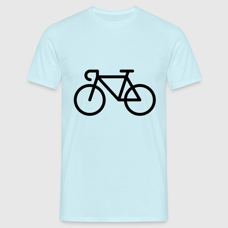 Bicyclette / Vélo De Course (Icone / Pictogramme) Tee shirts - T-shirt Homme