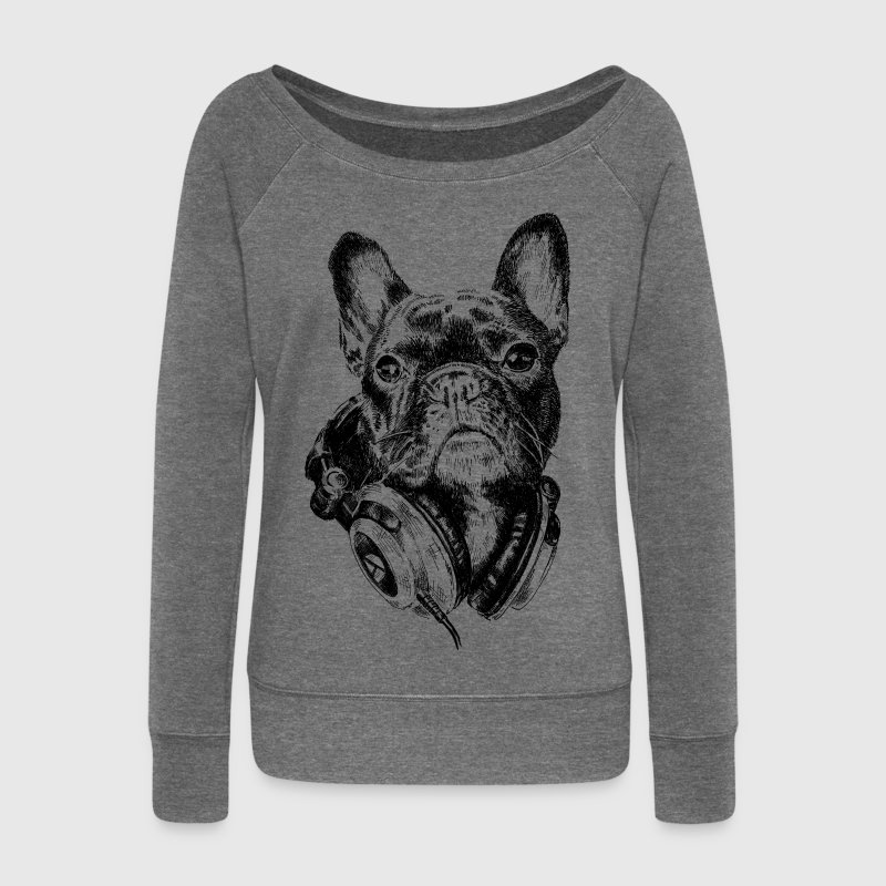 DJ Frenchie Sweat-shirts - Pull Femme col bateau de Bella