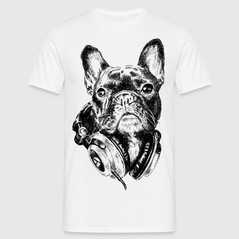 DJ Frenchie T-shirts - Herre-T-shirt