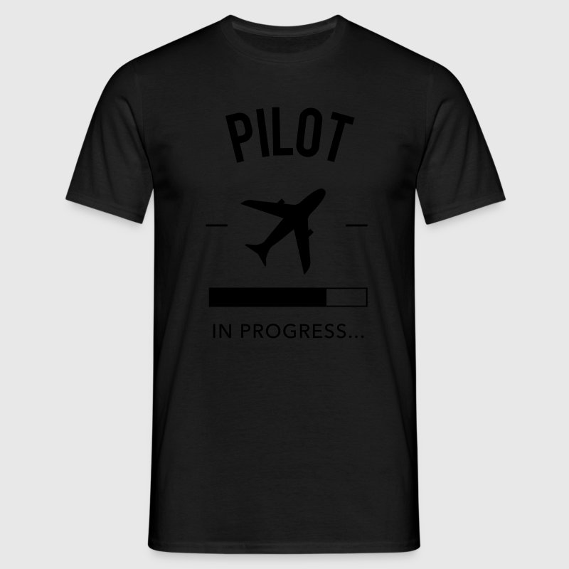 Pilot in progress - Männer T-Shirt