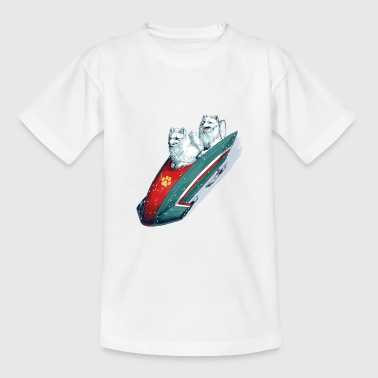 Arctic Fox Bobsleigh Shirts - Teenage T-shirt