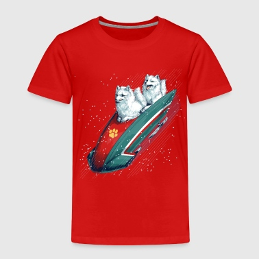 Arctic Fox Bobsleigh Shirts - Kids' Premium T-Shirt