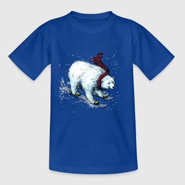 Polar Bear Ski Shirts - Teenage T-shirt