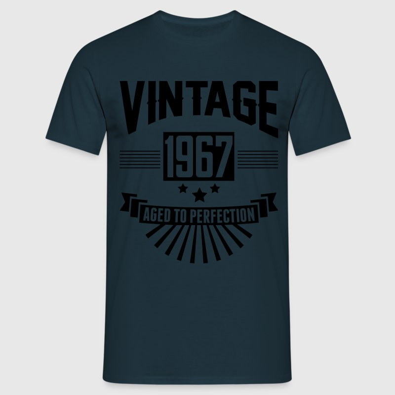 VINTAGE 1967 - Aged To Perfection  T-Shirts - Men's T-Shirt