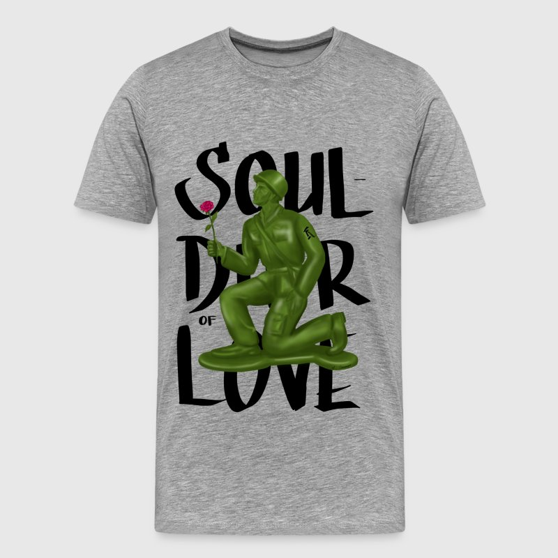 SOULdier of LOVE - Men's Premium T-Shirt
