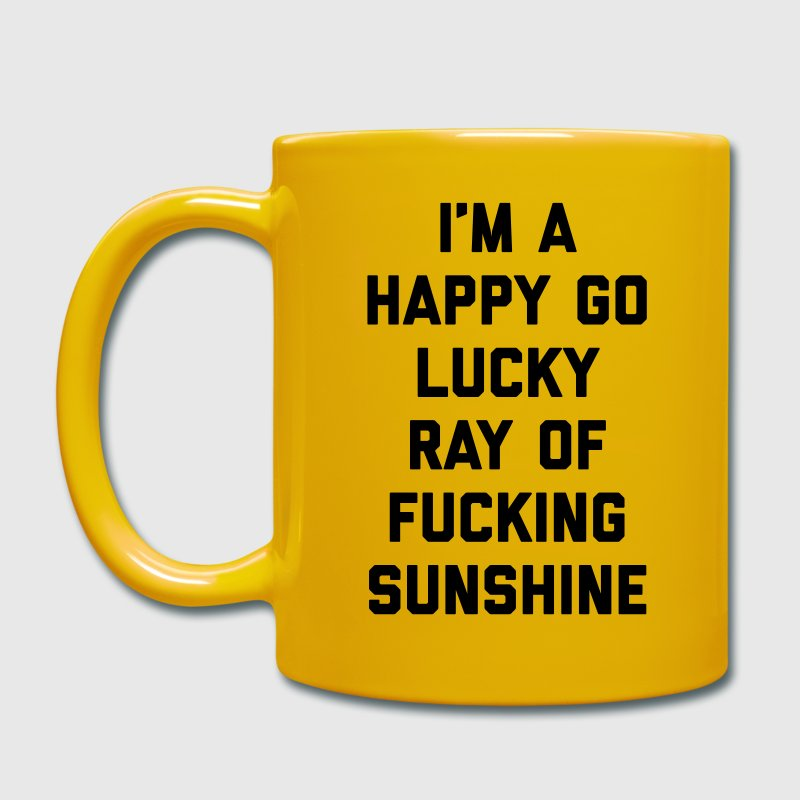 Ray Of Sunshine Funny Quote Mugs & Drinkware - Full Colour Mug