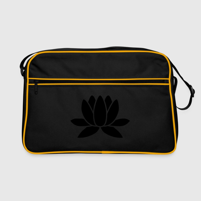 lotus flower Bags & Backpacks - Retro Bag