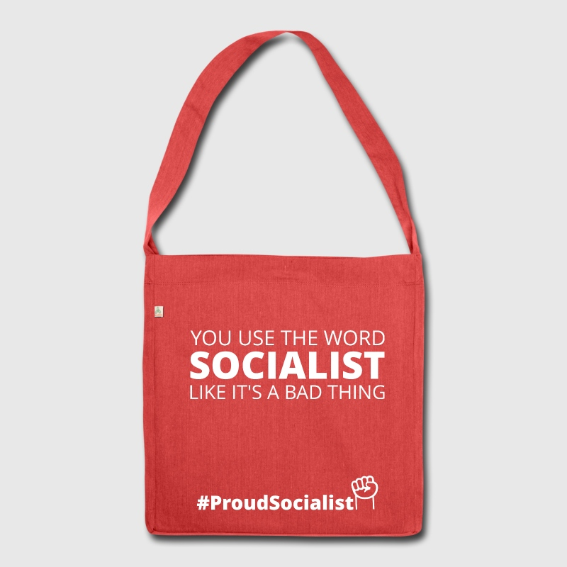 You keep using the word socialist... Bags & Backpacks - Shoulder Bag made from recycled material