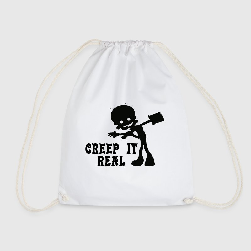 Creep it Real Bags & Backpacks - Drawstring Bag