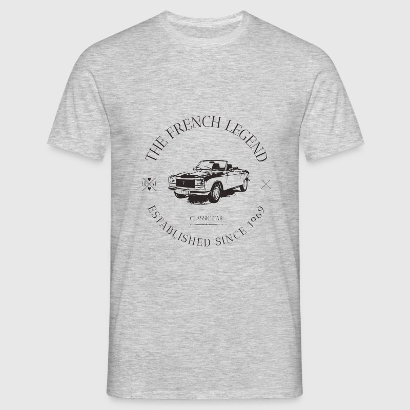 PEUGEOT 304 COUPE FRENCH CAR - T-shirt Homme