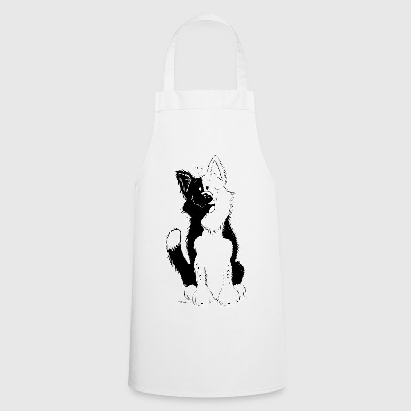 Cute Border Collie Tabliers - Tablier de cuisine