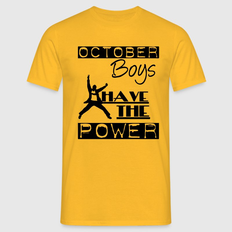 October Boys T-Shirts - Men's T-Shirt