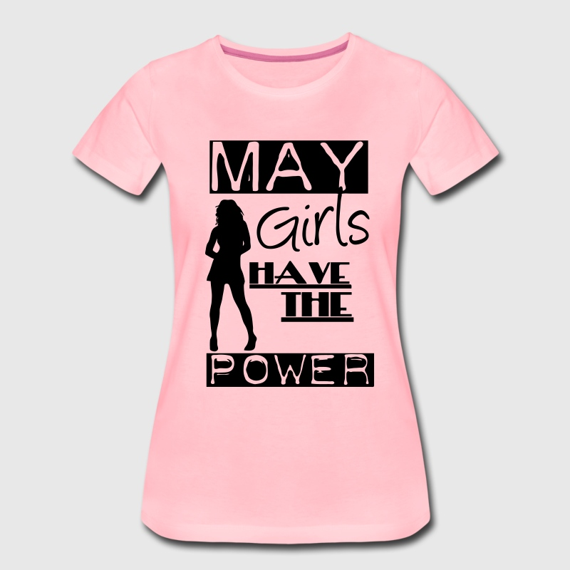 May Girls T-Shirts - Women's Premium T-Shirt