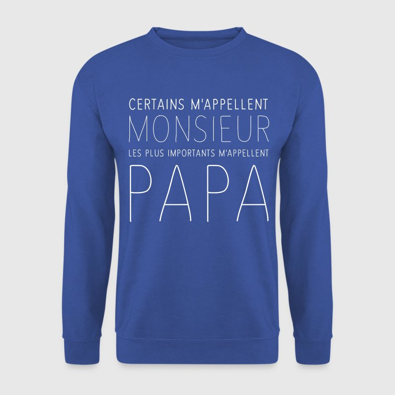 Monsieur Papa Sweat-shirts - Sweat-shirt Homme