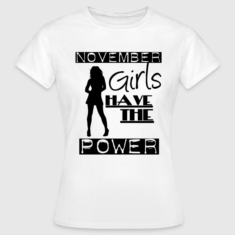November Girls T-Shirts - Women's T-Shirt