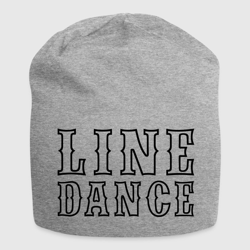 line dance outline jersey beanie spreadshirt. Black Bedroom Furniture Sets. Home Design Ideas