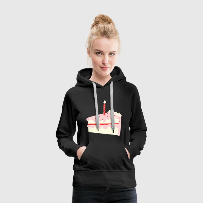 Birthday Cake Hoodies & Sweatshirts - Women's Premium Hoodie