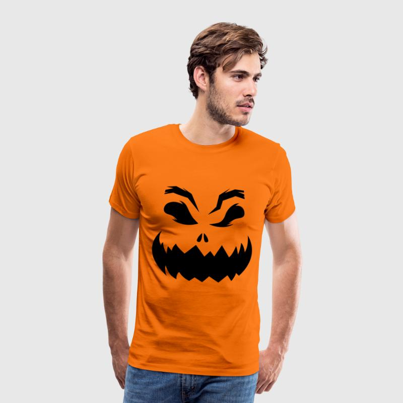 Halloween Pumpkin T-Shirts - Men's Premium T-Shirt