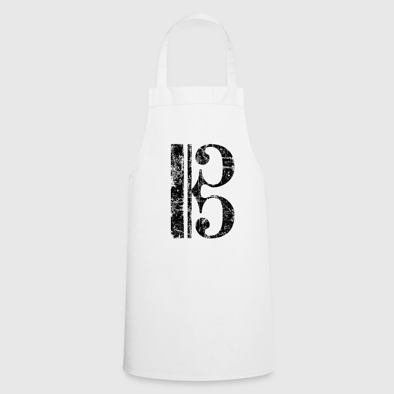 Violin key, tenor key, viola key  Aprons - Cooking Apron