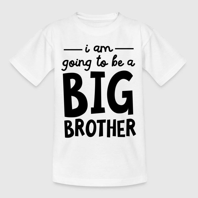 I Am Going To Be A Big Brother T-shirts - Børne-T-shirt